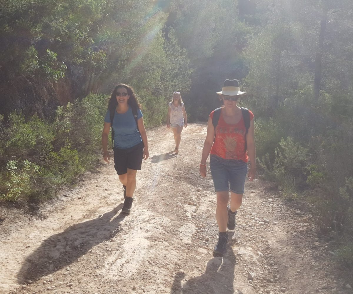 Retreat wandeling op Ibiza