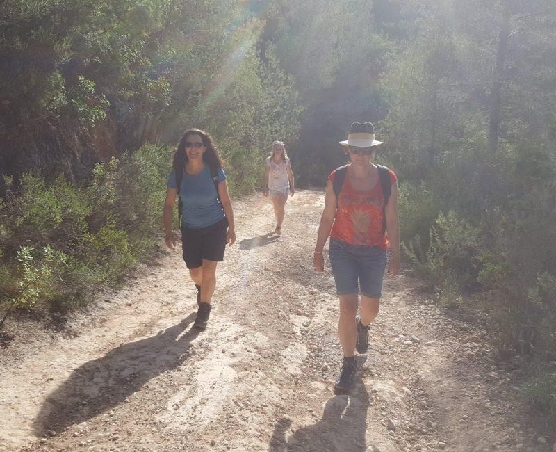 Retreat wandeling op Ibiza